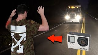 (clinton road) we put a GoPro on DK and we see INSIDE the phantom truck... (real footage) thumbnail