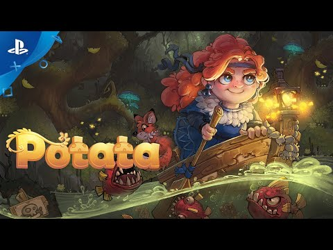 Potata: fairy flower - Gameplay Trailer | PS4