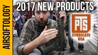 PTS Syndicate Airsoft New Products - 2017 | Airsoftology SHOT Show