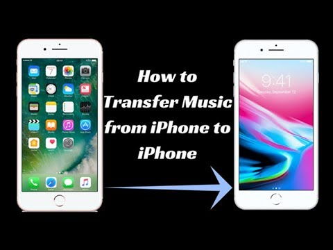 How to Transfer Music from iPhone to iPhone X/8/7/6 Plus