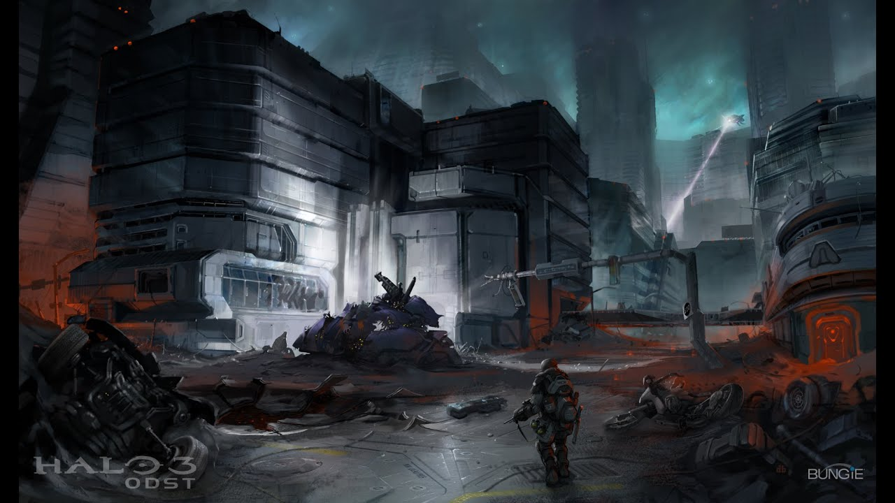 Halo 3 odst xbox one part 12 mombasa streets gameplay walkthrough no commentary gameplay youtube