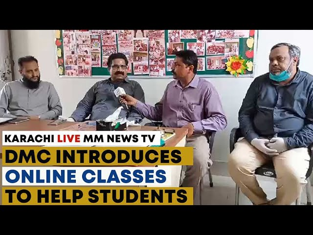DMC Introduces Online Classes To Help Students