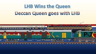 Deccan Queen goes with LHB | LHB Deccan Queen | Indian Railways | Restrained Imperium