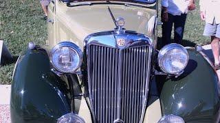 1947 MG Magnette YA Four Door Sedan Grn LakeMirrorB101814