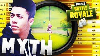 TSM Myth Fortnite Season 6 Settings & Keybinds & Sensitivity - Fortnite Battle Royale