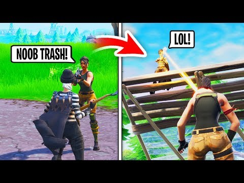 I Paid A Girl NOOB $500 To CARRY Me in Fortnite... (Ends Bad