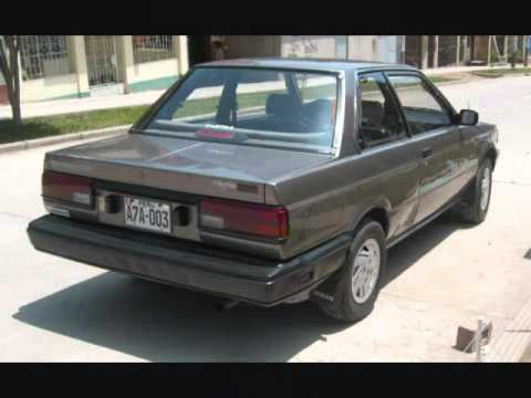 NISSAN SENTRA COUPE 88 VERSION AMERICANA - YouTube