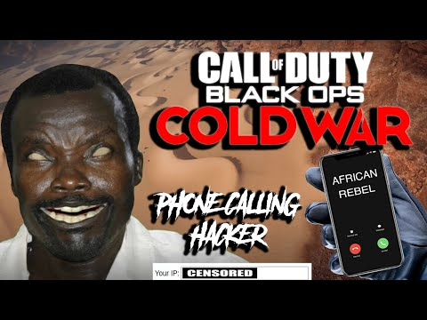 African Rebel Locates & Calls Hacker's iPhone During Cold War Match!