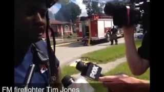 Fort Myers firefighters rescue dog, fight house fire   Video