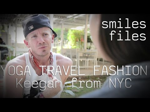 Keegan the Yogi Fashionista from NYC: Smiles Files - Bangalore, India