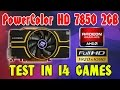 PowerColor HD 7850 2GB | Test in 14 games - 1080p