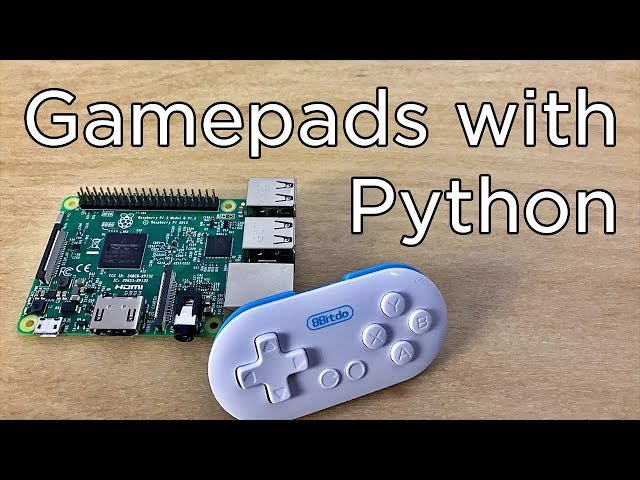 Using USB and Bluetooth Controllers with Python - Tutorial