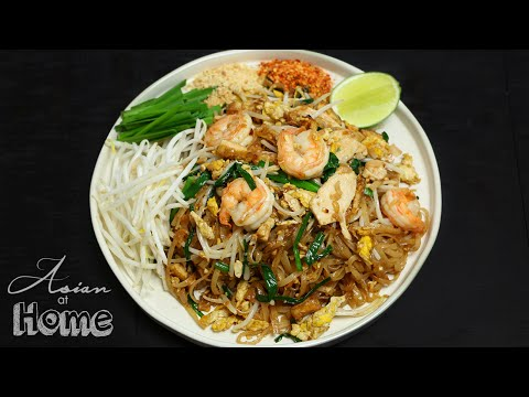 Asian at Home | Pad Thai Recipe