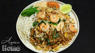 Asian at Home  Pad Thai Recipe