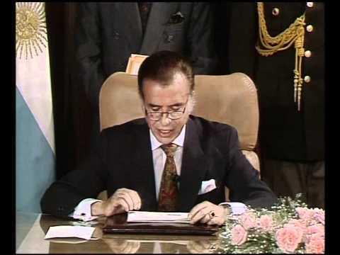 Cavallo: situación económica - Menem: Decreto de Desregulación (1991)