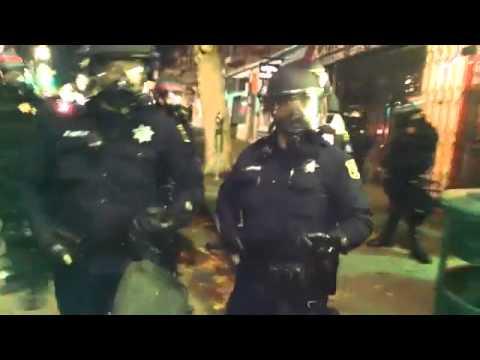 Berkeley Cops Beat Protesters