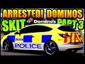 ARRESTED! DOMINOS PIZZA DELIVERY SKIT PART 3 (POLICE CHASE) | Forza Horizon 3 SKIT!