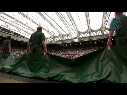 Share the Moment: Centre Court roof unveiled