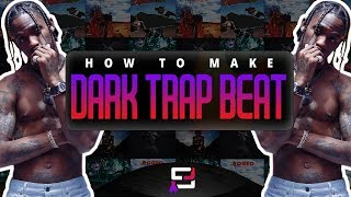 how to make a dark trap beat on fl studio 12