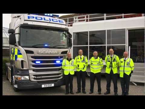 Out on the road with Britain's commercial vehicle crime fighters
