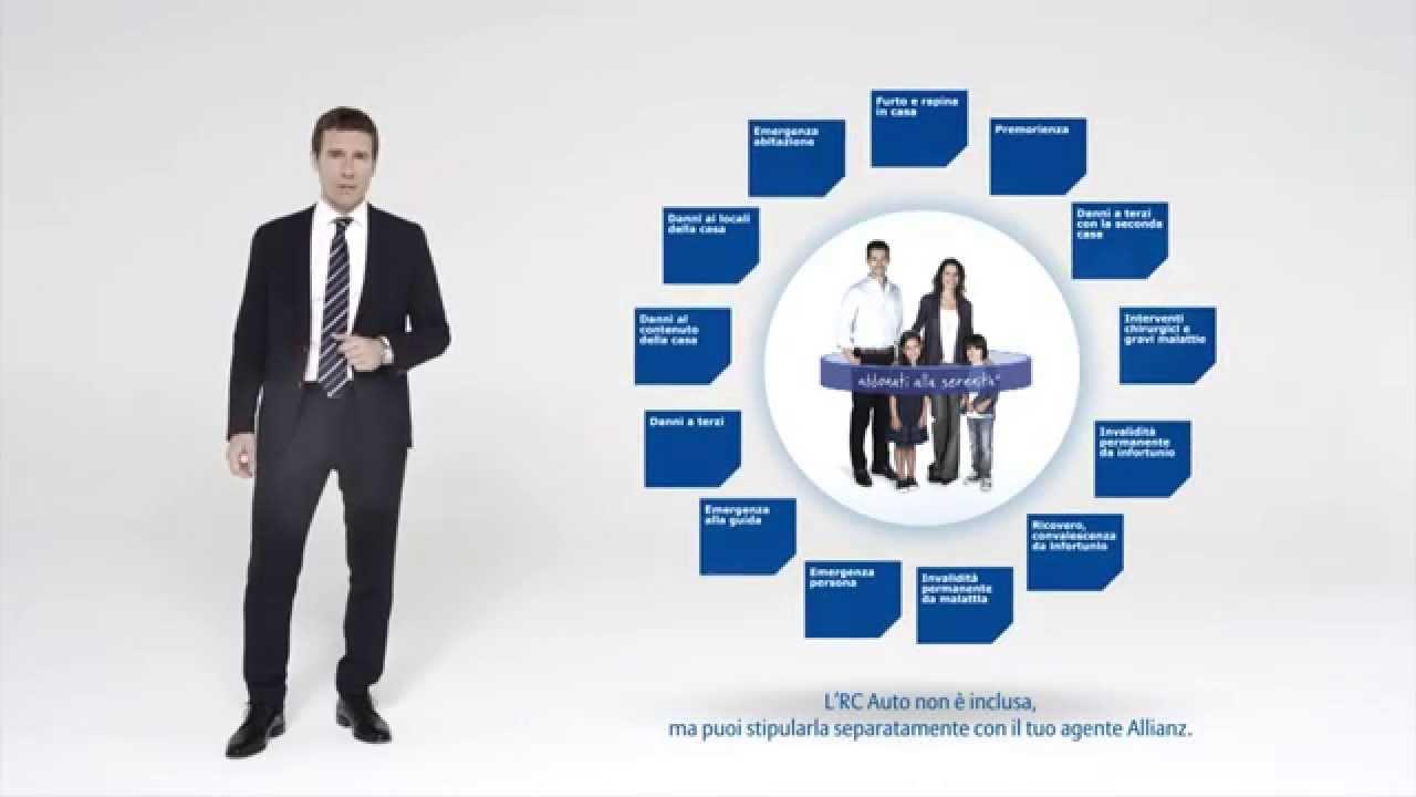 Allianz 1 abbonati alla serenit youtube for Allianz condizioni generali di assicurazione