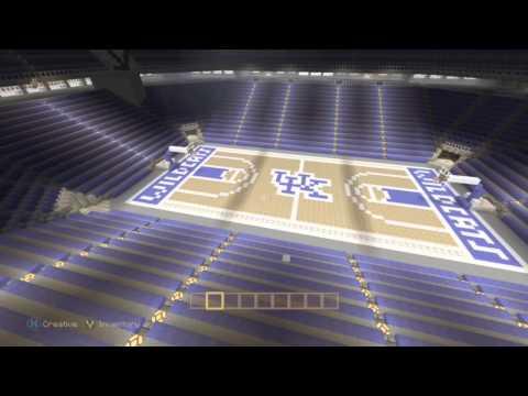Lucas Oil Stadium/ Rupp Arena minecraft