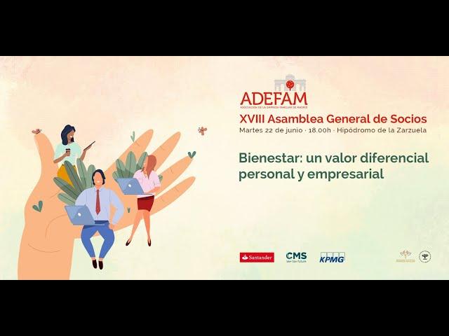 Vídeo 18ª Asamblea General de Socios de ADEFAM, 22 6 2021