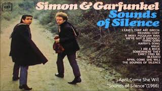 Simon & Garfunkel /4月になれば彼女はApril Come She Will 『Sounds o...