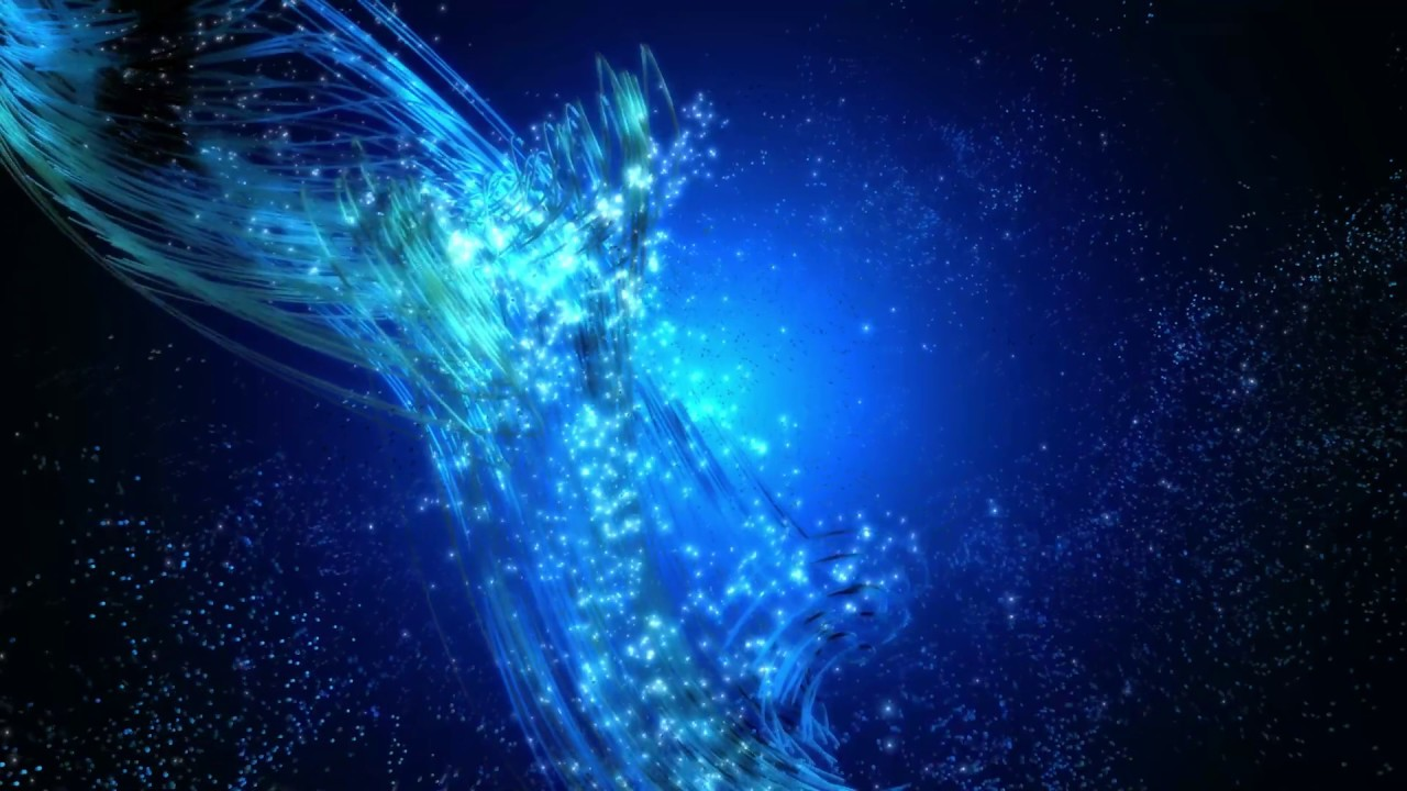 4k Pc Mobile Live Wallpaper Blue Wave In Space Aavfx Relaxing Moving Background