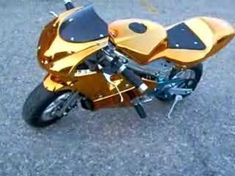 2007 Giovanni Pocket Bike Youtube