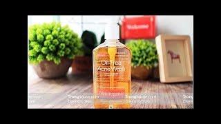 Đánh giá dòng sản phẩm Sửa rửa mặt Neutrogena Oil Free Acne Wash
