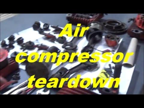 Rebuilding Industrial 2 stage Air compressor