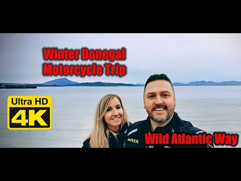 Winter Motorcycle Trip to Donegal & Wild Ireland Animal Sanctuary | 2019 - Me, Her & GS