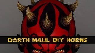 DIY Darth Maul Horns Halloween | Cosplay | Shonagh Scott