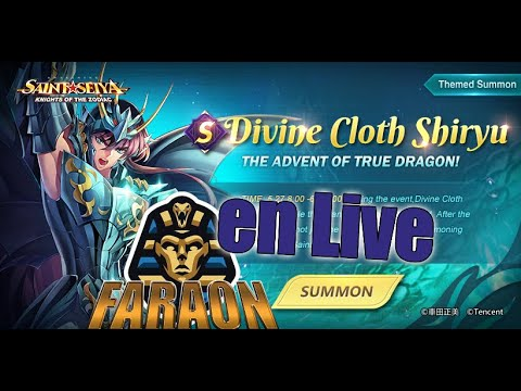 [Saint Seiya Awakening] Live Spécial Shiryu GC Test PvP /TEAM SHIRYU / COUNTER ?!!!