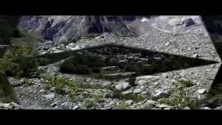 Tour du mont blanc à VTT été 2009 1er épisode