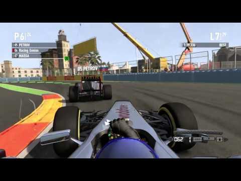 F1 2011 Coop Season 2 Europe 50% Race #1