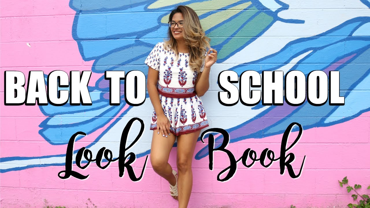 Back To School Fashion Style With Glasses Youtube