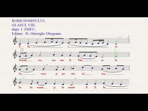 ROBII DOMNULUI, GLASU VIII, dupa I ZMEU from YouTube · Duration:  4 minutes 37 seconds