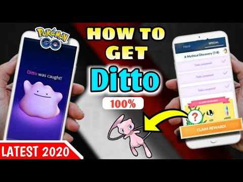 How To Get A Ditto In Pokemon Go 2020 | Best And New Way To Catch Ditto In Wild | Easy To Find Ditto