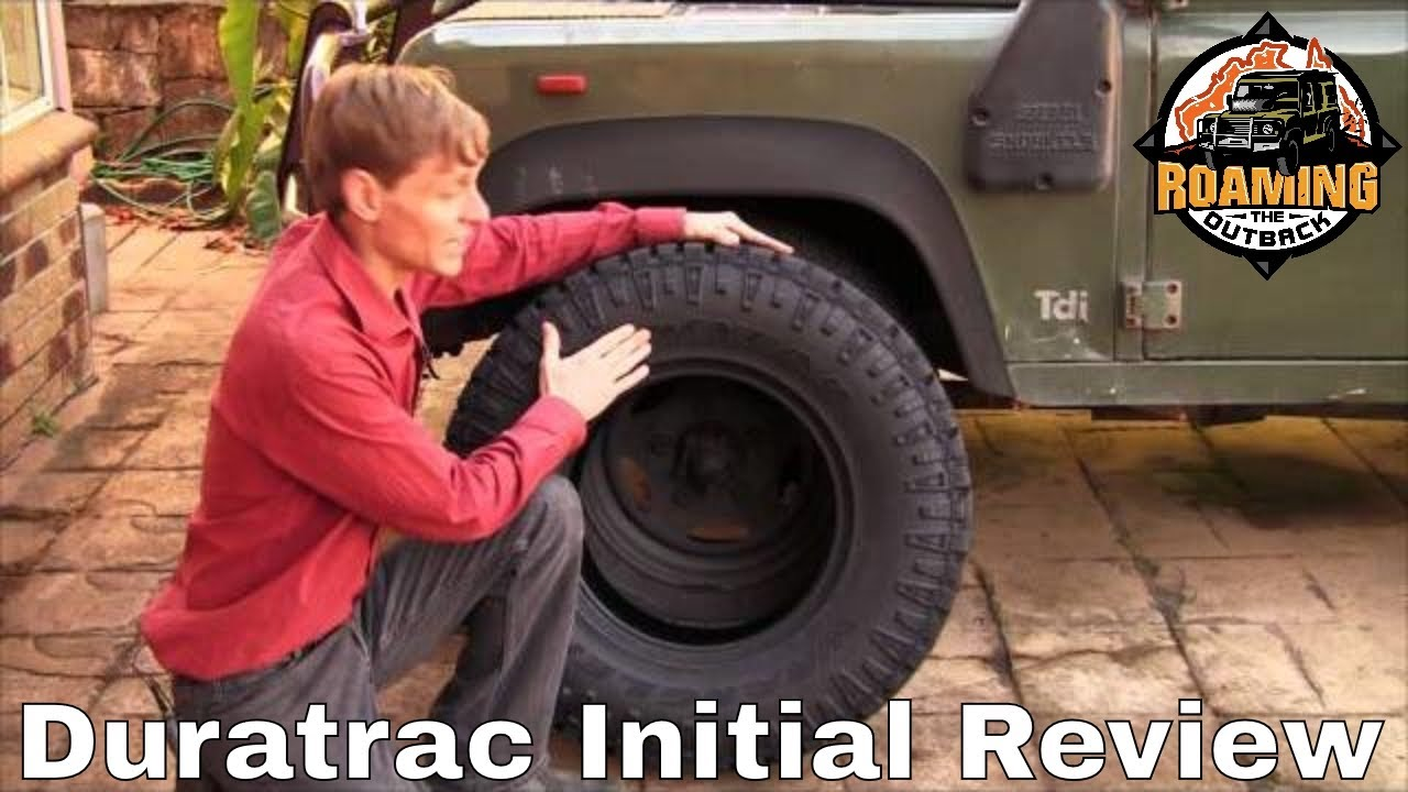 Land Rover Defender 110 >> Goodyear Duratrac Tyre Review - YouTube