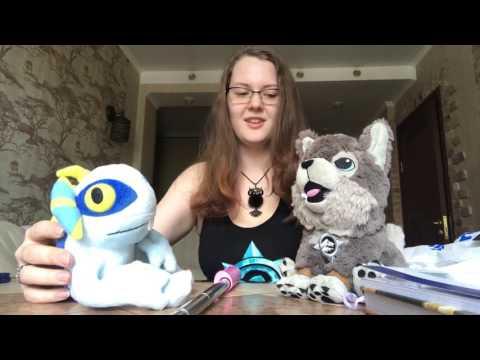 Мягкие игрушки Blizzard и WoW TCG. Распаковка посылки для Лавки Таутики.