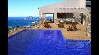 Espagne : Vente villa de luxe vue imprenable sur la mer – Projet : En cours de déménagement ?