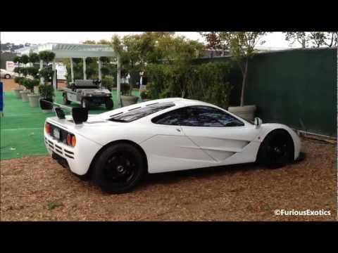 Mclaren F1 Exhaust Sound Start Up