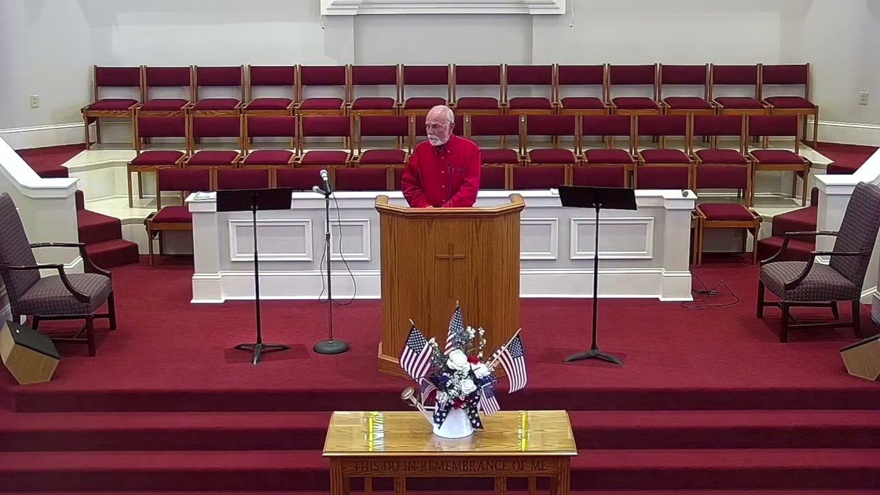 Canton Baptist Church Sunday Service 7-4-21