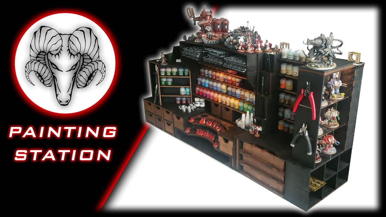 painting station custom one youtube