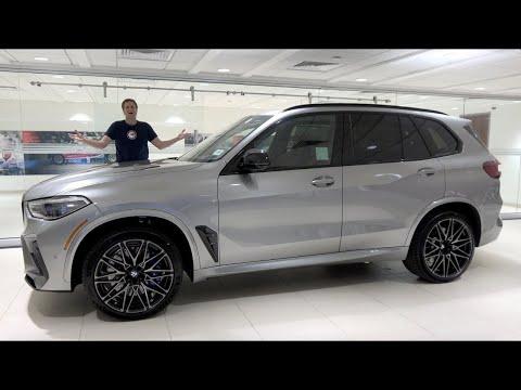 BMW X5M Competition 2020 года - это 600-сильный супер кроссовер