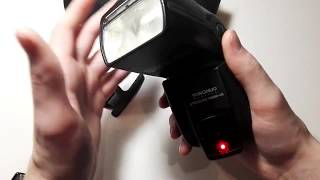 обзор и настройка вспышки Yongnuo Digital Speedlite YN560-III