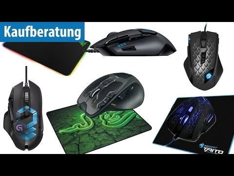 Die 5 beliebtesten Gaming-Mäuse und Mauspads im Test | deutsch / german
