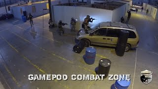RDX Rolling DEEP!  Recoil Dynamix GBBR ONLY TEAM at GamePod Combat Zone 1-25-2015